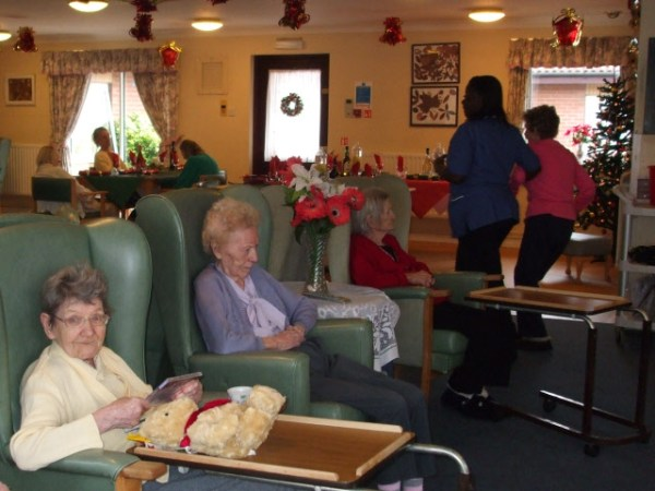 Christmas Day in a nursing home Stephen Craven ccbysa