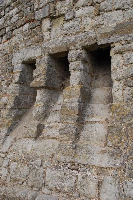 Garderobes at Hadleigh Castle  william  Geograph