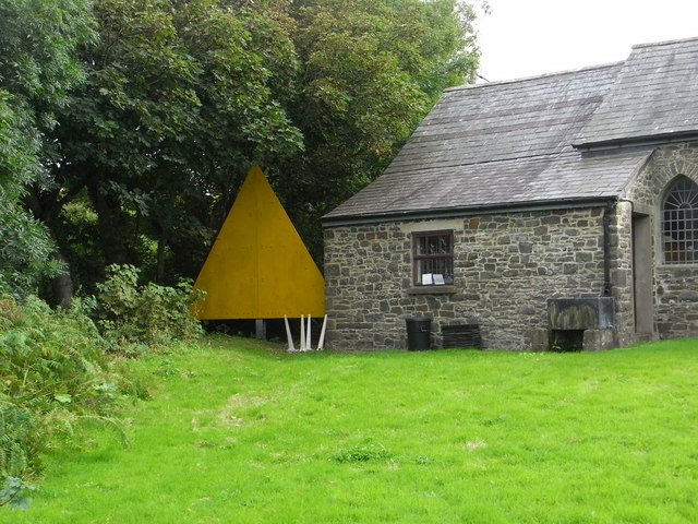 Big yellow triangle