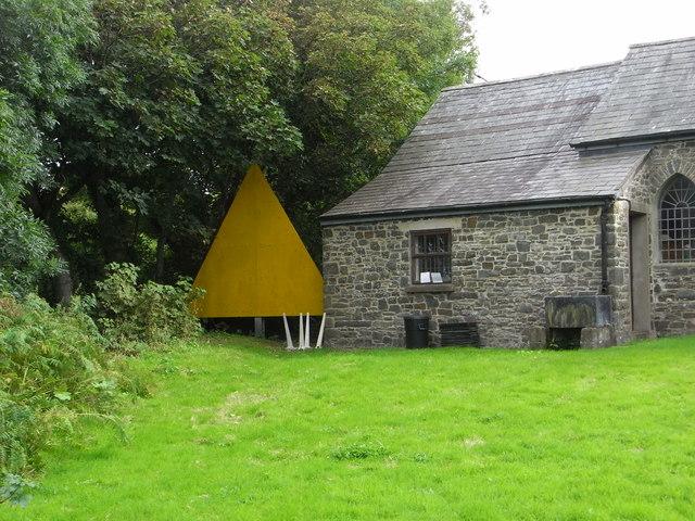 Big yellow triangle