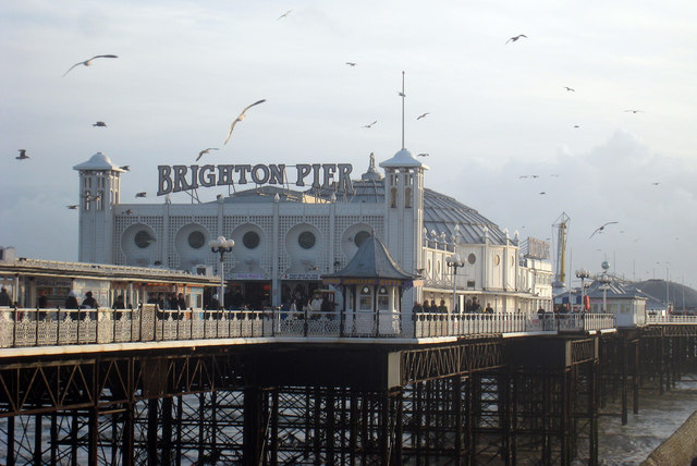 Palace Pier Brighton Oast House Archive Cc By Sa20 Geograph Britain And Ireland
