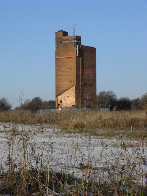 The old Ronkswood Hospital water tower  Chris Allen ccby