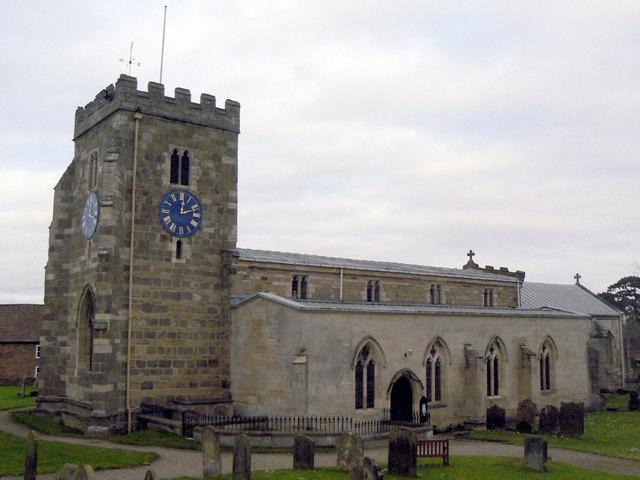 St Andrew's parish church, Aldborough © Alan Murray-Rust cc-by-sa