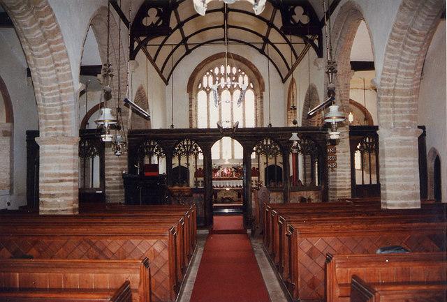 St Martin of Tours, Sherford, Devon - East end