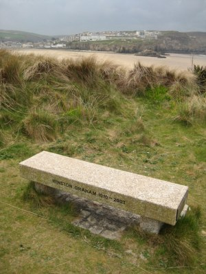 Winston Graham Memorial Seat, Perranporth