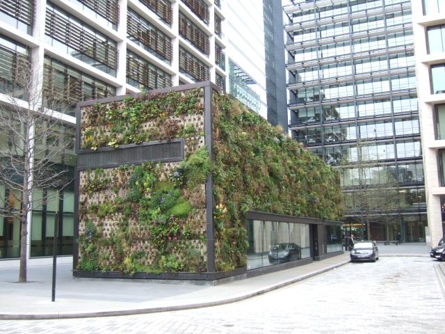 The Green Wall New Street Square EC4  David Smith