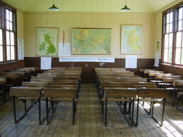 Recreated school interior  jamesnicoll ccbysa20