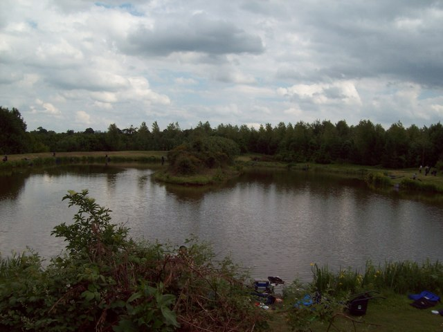 Botany Bay Lake in Beehive Wood  Jonathan Clitheroe