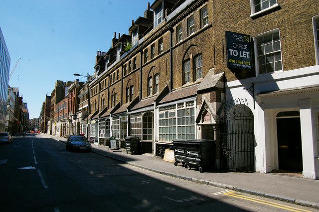 Worship Street Shoreditch London EC2  Julian Osley