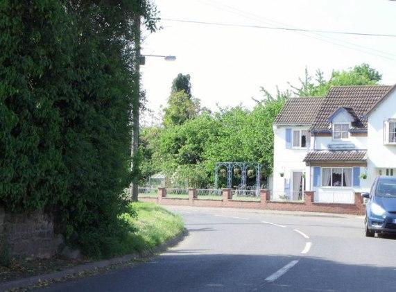Station Road, Westbury, Shropshire © nick macneill cc-by-sa/2.0