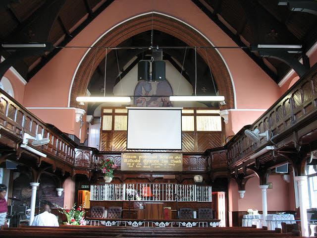 Ransom Pentecostal Church Interior 169 Stephen Craven