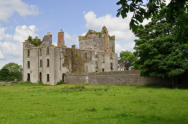 Castles of Connacht Castle Taylor  Mike Searle  Geograph Ireland