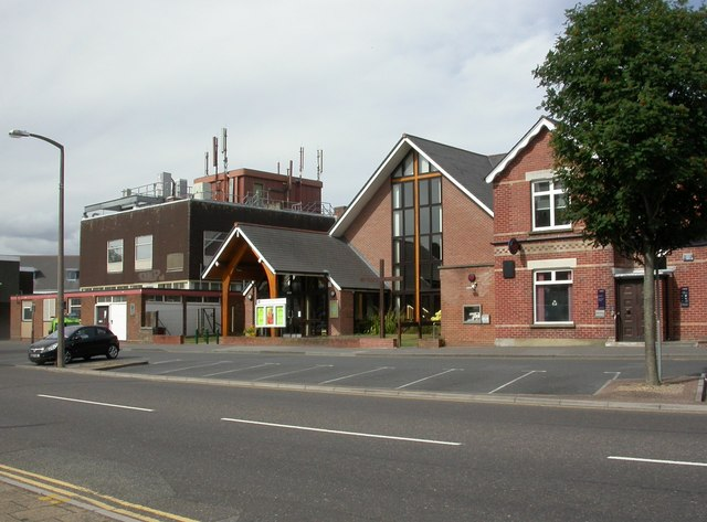 Broadstone. Methodist Church Centre © Mike Faherty cc-by-sa/2.0 :: Geograph Britain and Ireland
