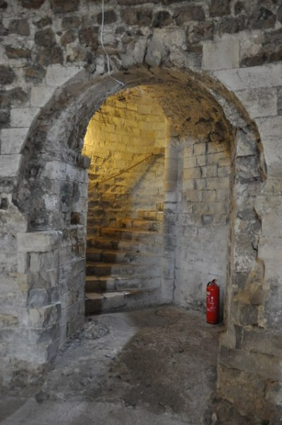 Orford Castle - Door in the Basement © Ashley Dace cc-by ...