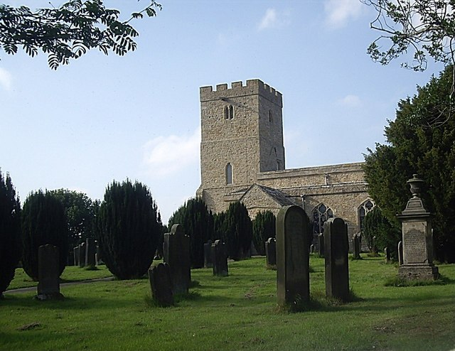 Church at Stanwick St John © Stanley Howe :: Geograph Britain and