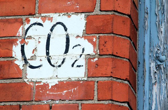 CO2 sign Belfast  Albert Bridge  Geograph Ireland