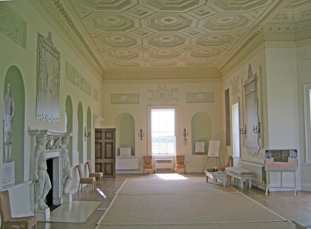 The Long Gallery At Croome Court Trevor Rickard Cc By Sa