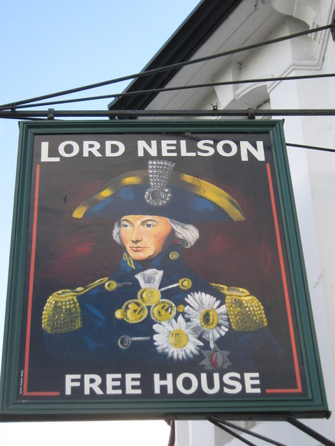 Lord Nelson Pub Sign Deal  David Anstiss ccbysa20