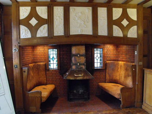 Broneirion  inglenook in conference  Penny Mayes