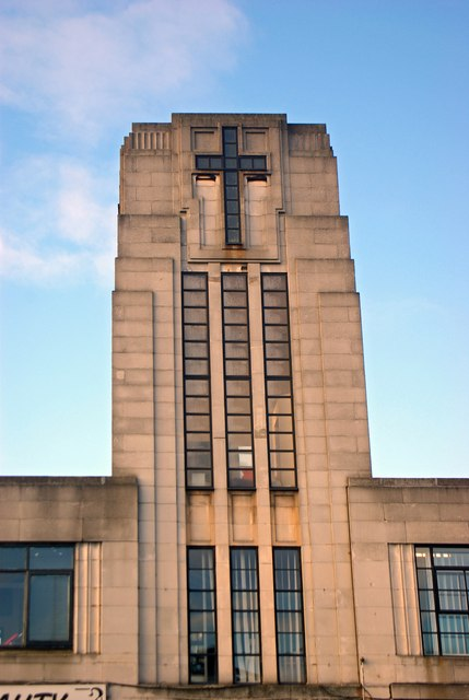Art Deco Tower St Mark Methodist 169 Julian Osley Cc By