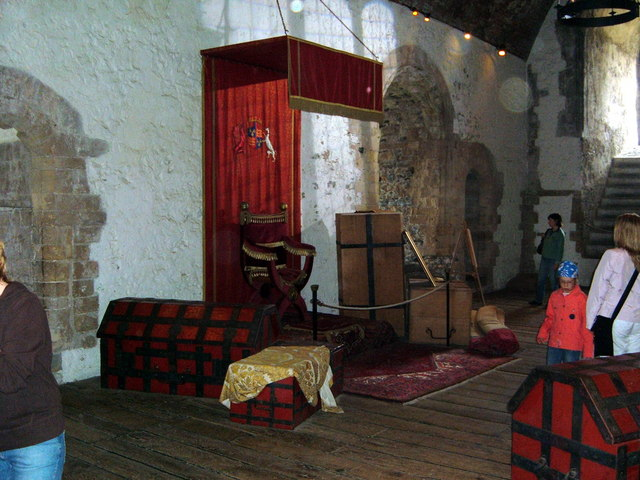 Dover Castle Throne Room  Helmut Zozmann  Geograph