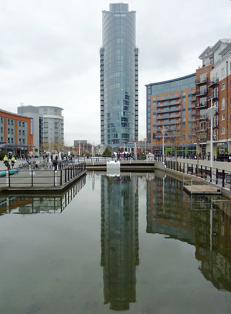 Number One at Gunwharf Quays Portsmouth  Roger Kidd  Geograph Britain and Ireland