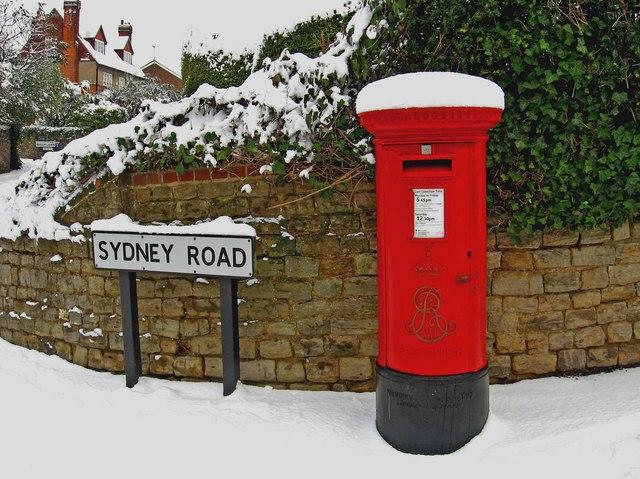 Christmas Postbox Sydney Road L S Wilson Cc By Sa20