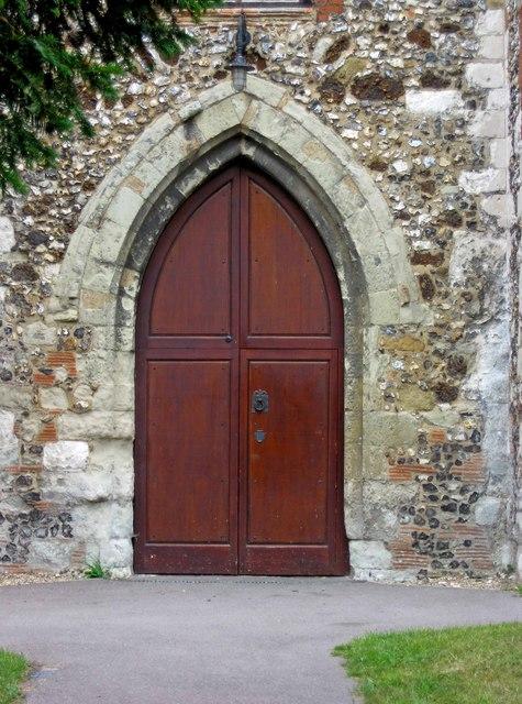 St Peters Church  door Church  P L Chadwick ccby