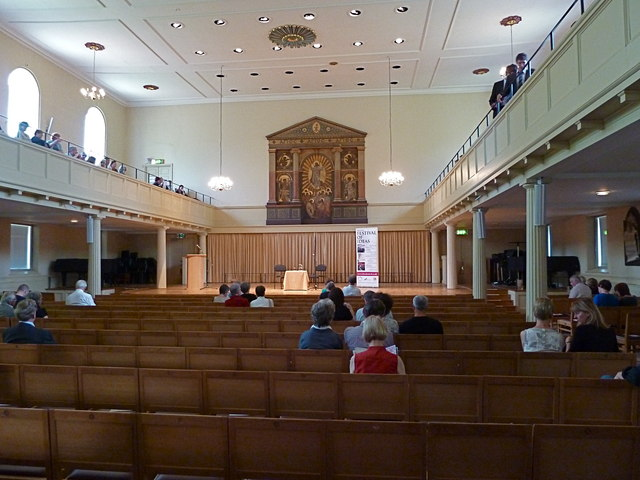 Interior of St Georges Brandon Hill  Anthony ONeil