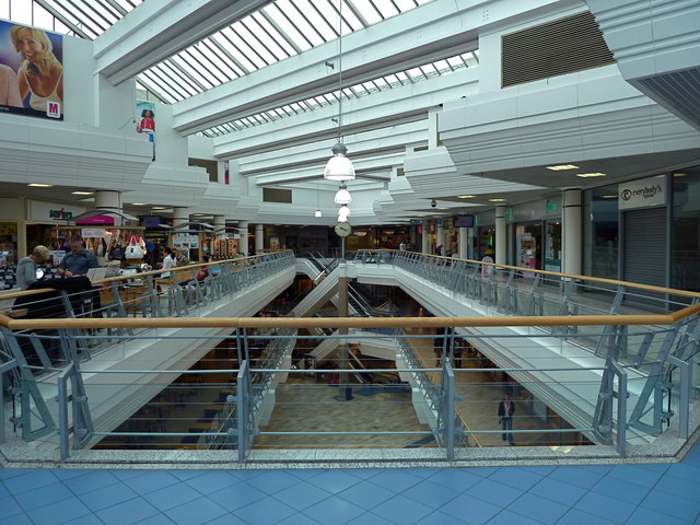 The Galleries shopping centre in  Anthony ONeil
