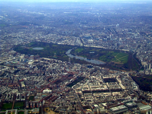 West London and Hyde Park from the air  Thomas Nugent ccbysa20  Geograph Britain and Ireland