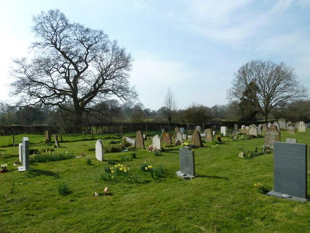 St Mary, Shipley: churchyard (4)