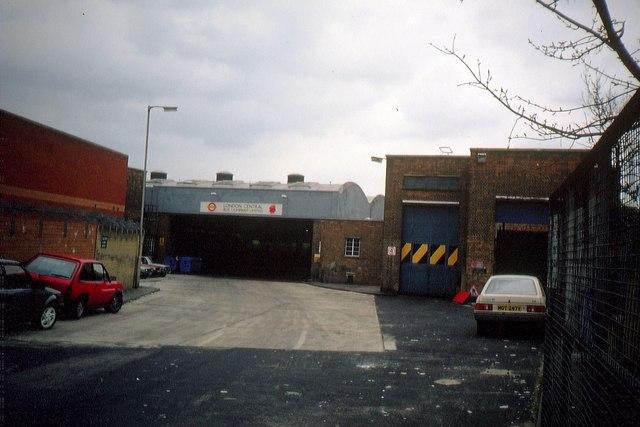 Former Peckham Bus Garage 2  David Hillas ccbysa20  Geograph Britain and Ireland