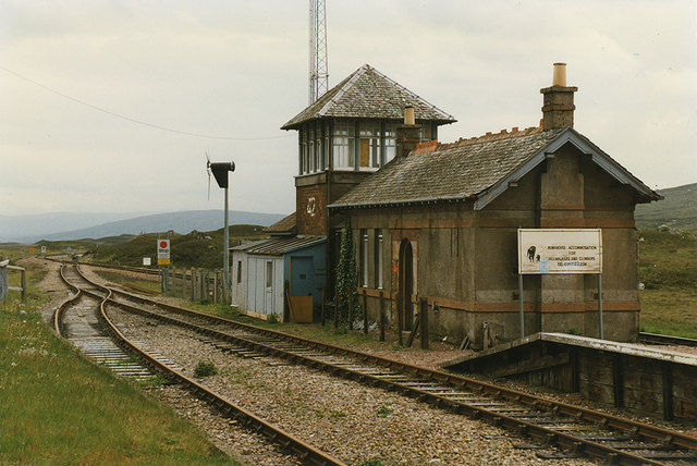 Corrour Station  Nigel Brown  Geograph Britain and Ireland