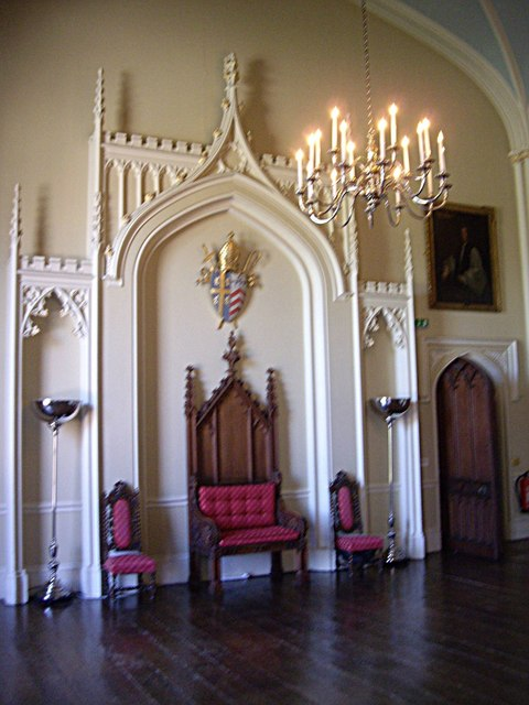 Throne Room Auckland Castle  Stanley Howe  Geograph