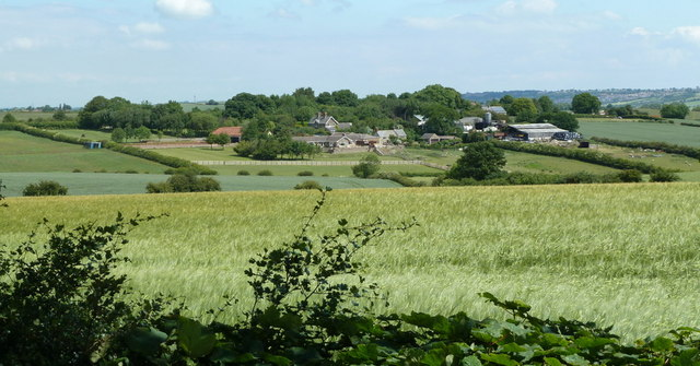 View across Stainsby Common to Common End