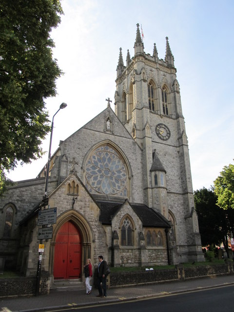 St George's Church. Beckenham © Richard Rogerson :: Geograph