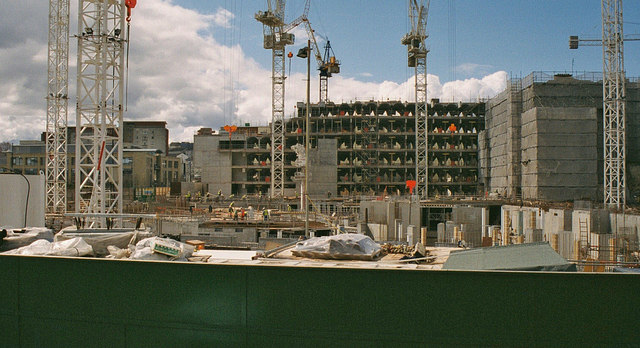 Construction of the Scottish Parliament  P L Chadwick