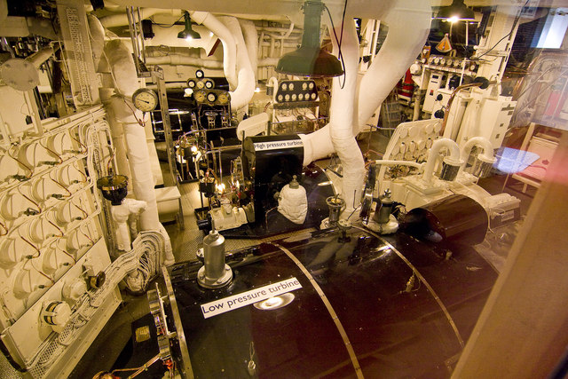 Royal Yacht Britannia Engine Room Alan Findlay Cc By Sa20 Geograph Britain And Ireland