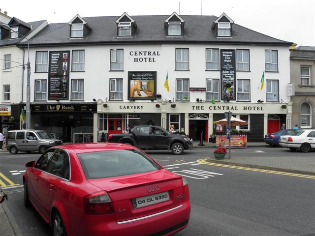 The Central Hotel Donegal Town C Kenneth Allen Geograph