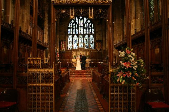 Wedding in St Matthews Church  Derek Bennett  Geograph Britain and Ireland