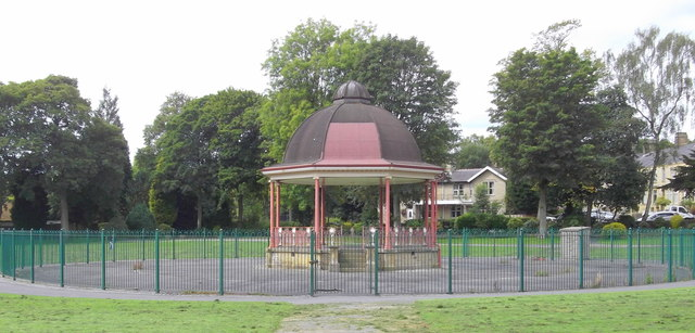 Bandstand Victoria Park Nelson  robert wade ccby