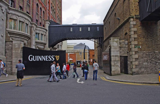 Entrance to the Guinness Storehouse  P L Chadwick  Geograph Ireland