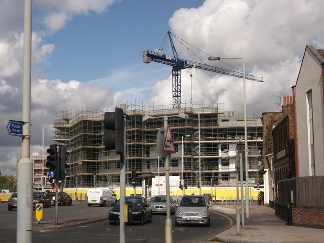 Construction site on Bell Green  David Anstiss  Geograph Britain and Ireland