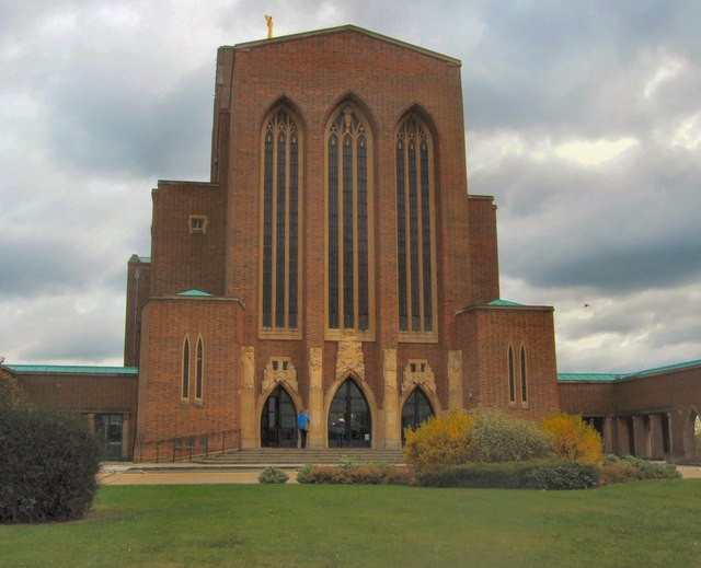 Guildford Cathedral  West Entrance  Paul Gillett  Geograph Britain and Ireland