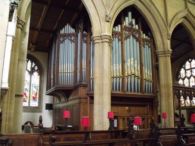 The Organ St James Church Louth  JHannanBriggs