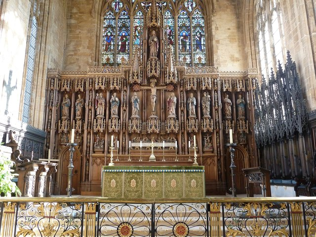 St Botolph S Altar And Reredos 169 Rob Farrow Cc By Sa 2 0