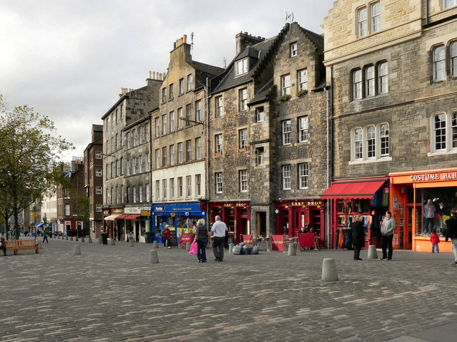 The Grassmarket  David Dixon  Geograph Britain and Ireland