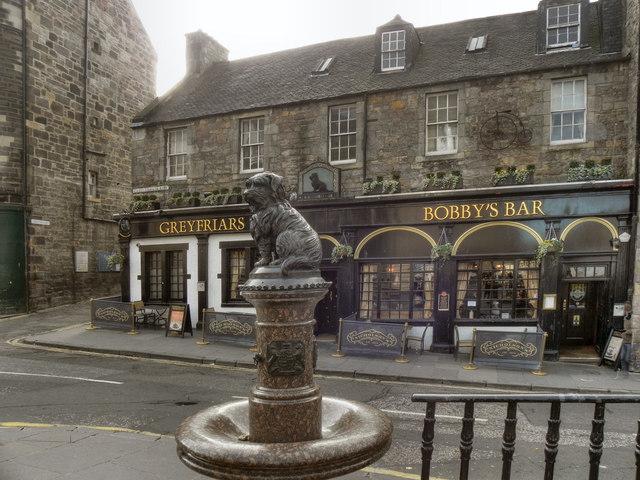 Greyfriars Bobbys Bar and Drinking  David Dixon ccby