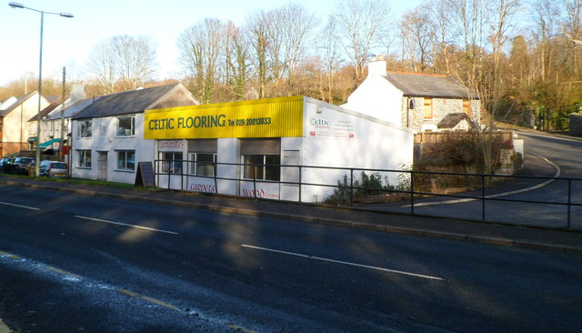 Celtic Flooring Nantgarw  Jaggery  Geograph Britain